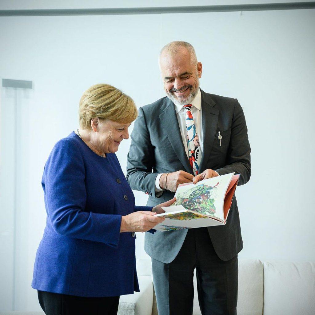 Angela Merkel liderazgo