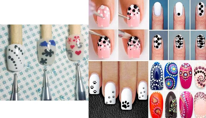 aplicarte diseños de uñas tú misma