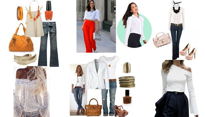 11 6 Blusas blancas y elegantes que no pueden faltar en tu armario