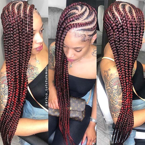 1570777927 495 23 hermosas trenzas de limonada Jumbo para copiar lo mas 8 Looks con Trenzas africanas de colores a la moda