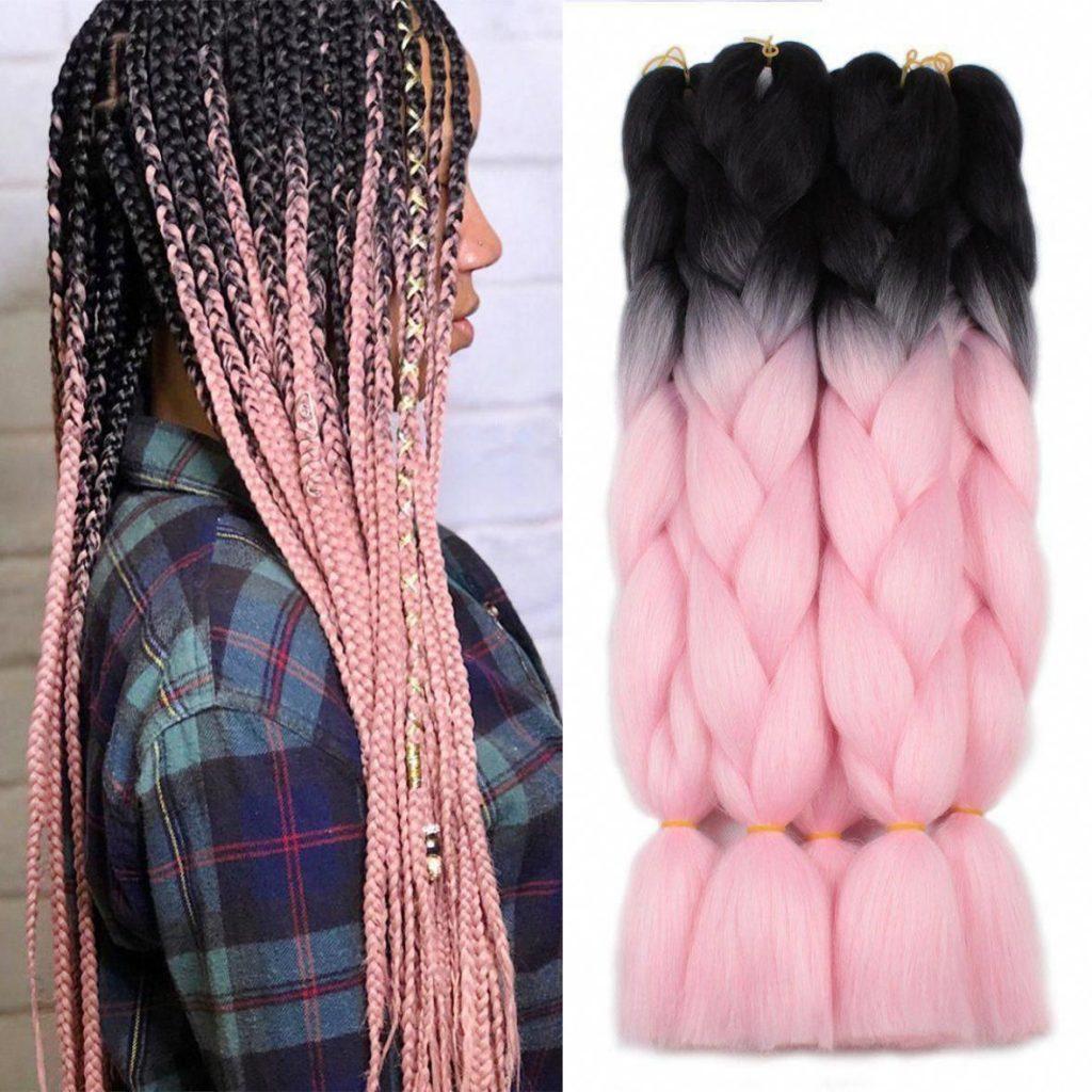8800203c797e318b2900ba6f83d3e590 8 Looks con Trenzas africanas de colores a la moda
