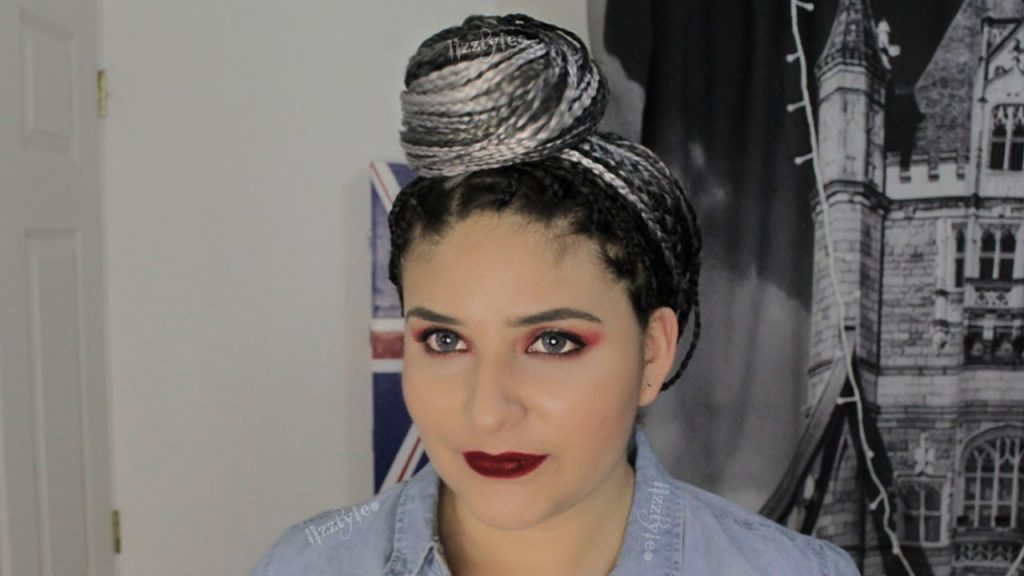 rodet blanco 8 Looks con Trenzas africanas de colores a la moda